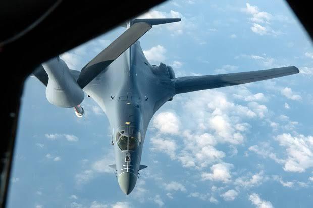 AS Kerahkan 2 Pembom supersonik B-1B Lancer, usai Kapal Perangnya Diusir China