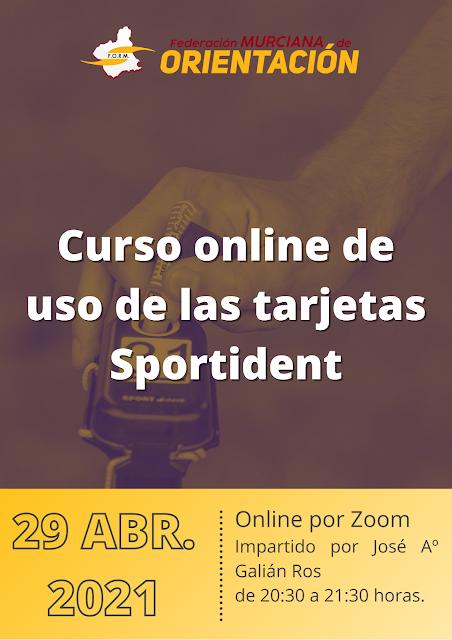 CURSO ONLINE DE USO DE LAS TARJETAS SPORTIDENT