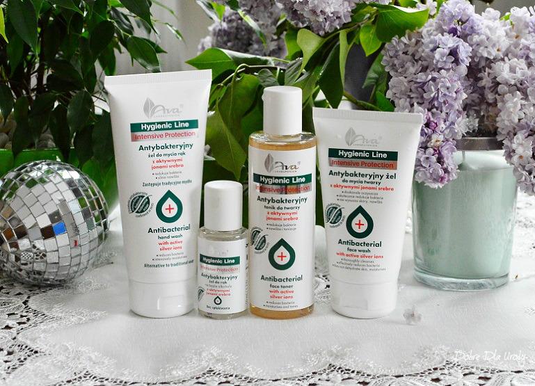 Nowość - Ava Hygienic Line antybakteryjne kosmetyki z jonami srebra recenzja