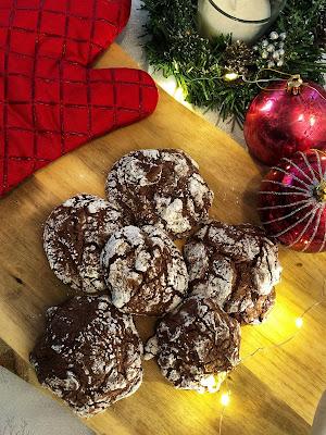 Christmas fudge cookies