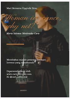 Wanita dan Research! Sosok Penerima Nobel Prize Pertama Dikalangan Para Wanita