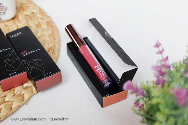 Looke Cosmetics, BRAND : Looke Cosmetics, Review, Beauty Review, Lipstick Looke, Lip Cream. Lip Cream Lokal