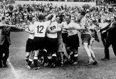 Jerman Barat Menang Piala Dunia 1954 Sebagai Debutan