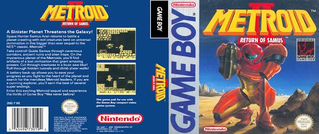 game boy metroid 2 return of samus cover
