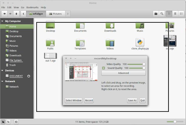 merekam desktop ubuntu merekam video di ubuntu merekam suara di ubuntu merekam layar di ubuntu