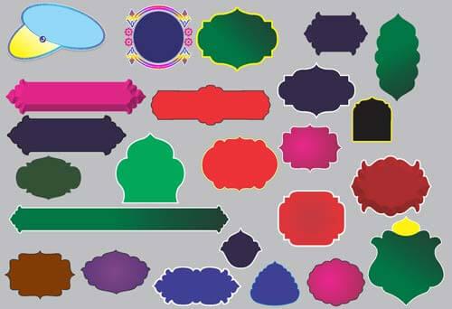 islamic shape vector download free vector art shapes design images cdr file download free vector art shapes design