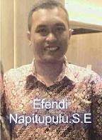 Efendi Sintong Panangian Napitupulu SE atau lebih dikenal dengan nama Efendi Napitupulu ad Profil Efendi Napitupulu - Ketua DPD Golkar Tobasa
