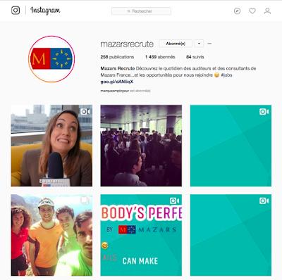 Mazars Instagram