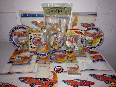 The Complete Reed Dukes of Hazzard Party Supply Collection