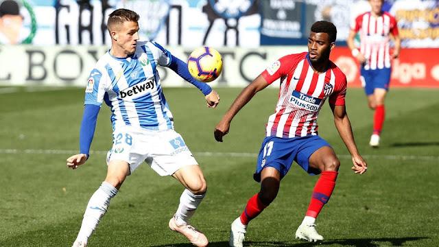 اهداف مباراه ليغانيس واتليتكو مدريد في الدوري الاسباني 25-8-2019