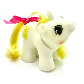 MLP Rattles Year Five Mexican Newborn Twin Ponies G1 Pony