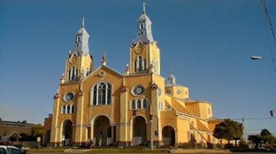 San Francisco Church in Castro, Chiloe Archipelago