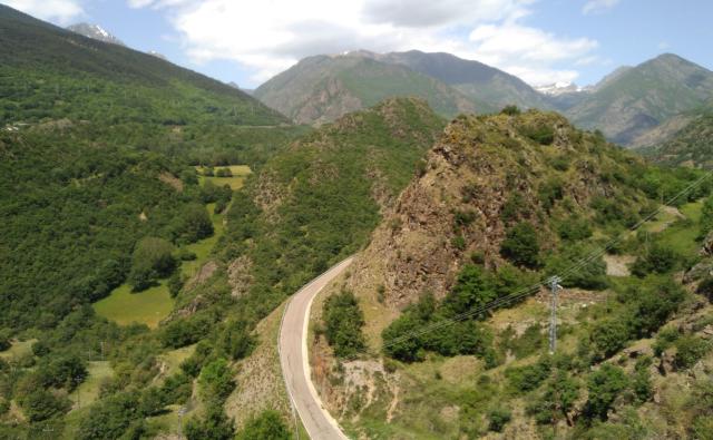 Entre Isavarre i Esterri d'Àneu