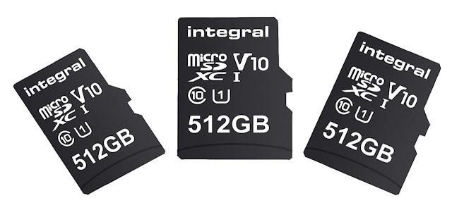 Beberapa Hari Lagi Akan Hadir MicroSD Raksasa Sebesar 512 GB Terbaru !