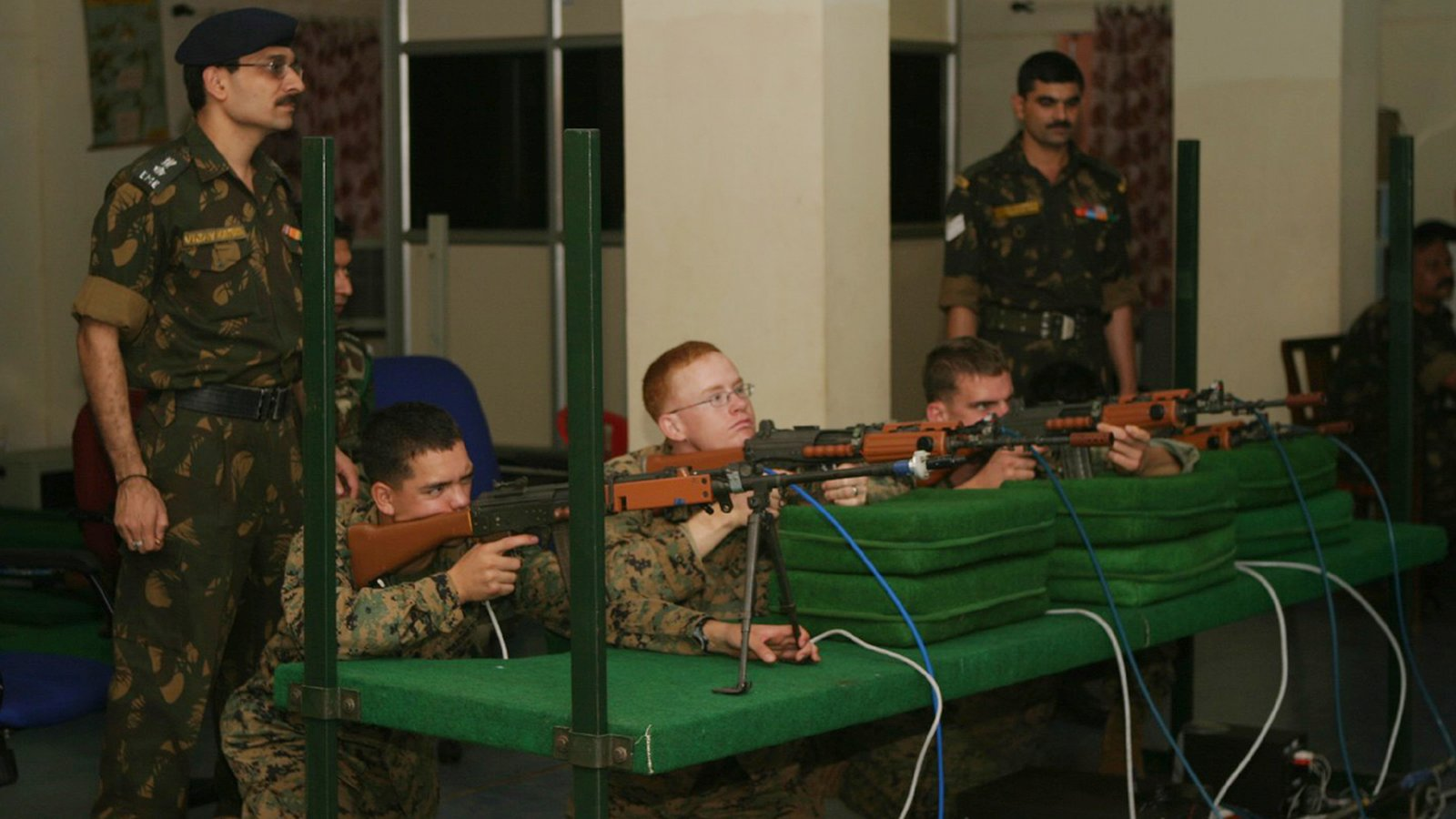 Indian Army - Firearms Simulator - 01