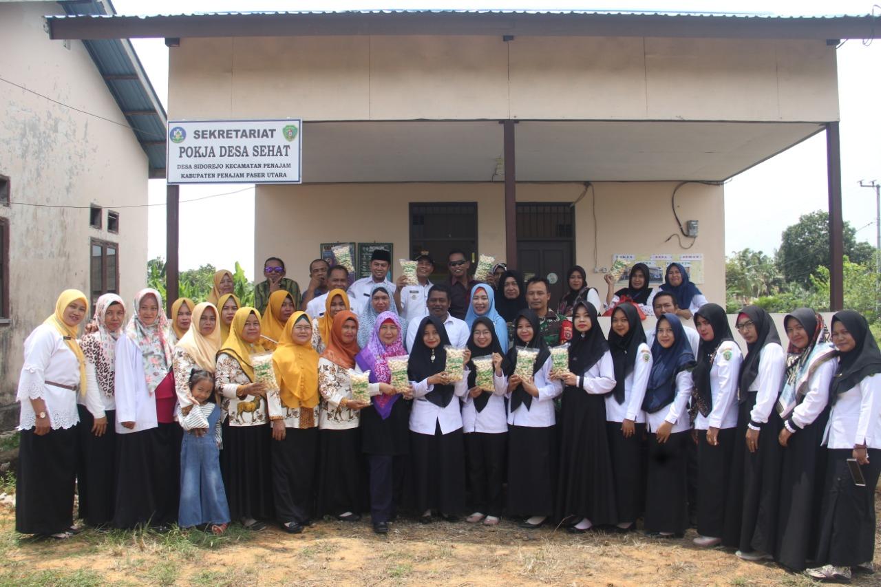 Dandim PPU Bangga Kepada Babinsa Desa Binaannya Masuk Kategori Kelompok Kerja Sehat Desa