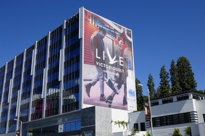 Grey Goose Vodka Live Victoriously billboard