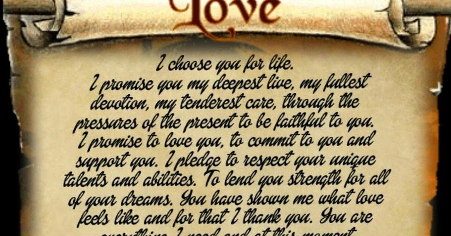 I promise to love you forever | Heartfelt Quotes