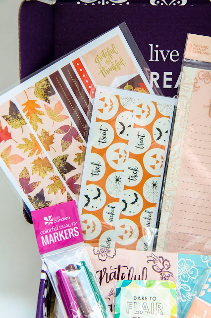 Erin Condren's Fall Seasonal Surprise Box Review