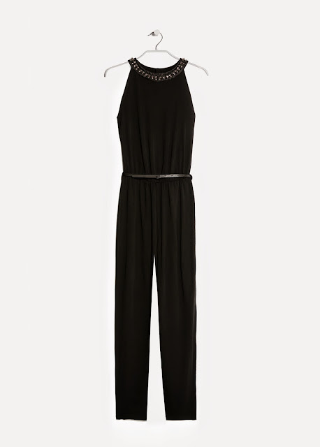 mango black jumpsuit