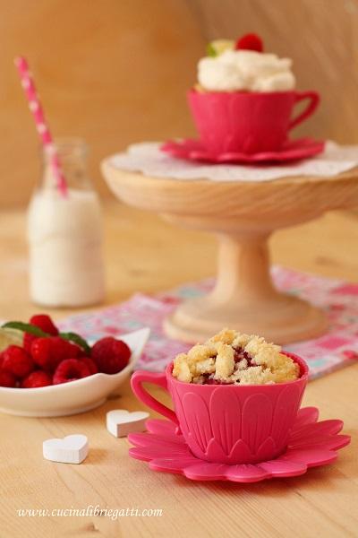 cupcake ai lamponi