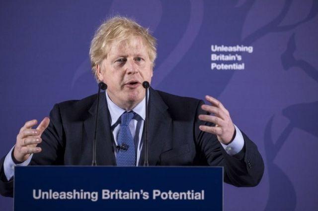 Brexit: Boris Johnson, AB ile serbest ticaret anlaşmasını kutluyor