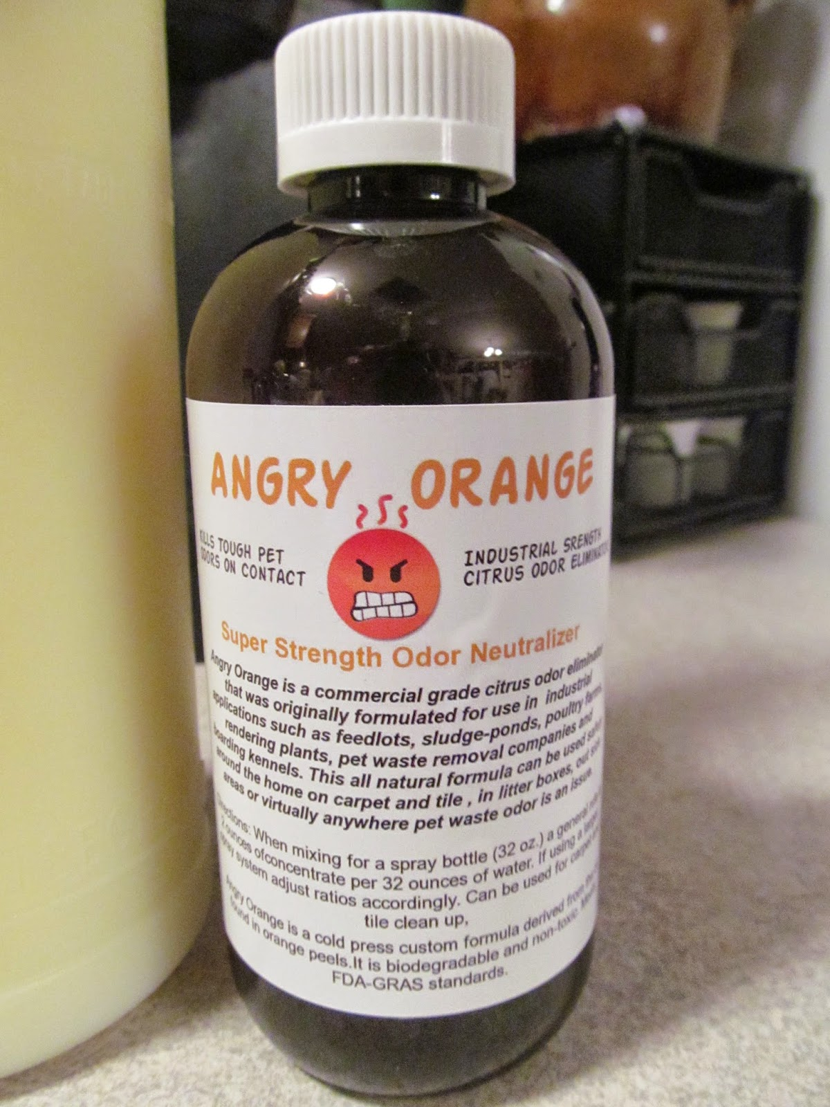 The Minister S Wife Angry Orange Pet Odor Eliminator Is