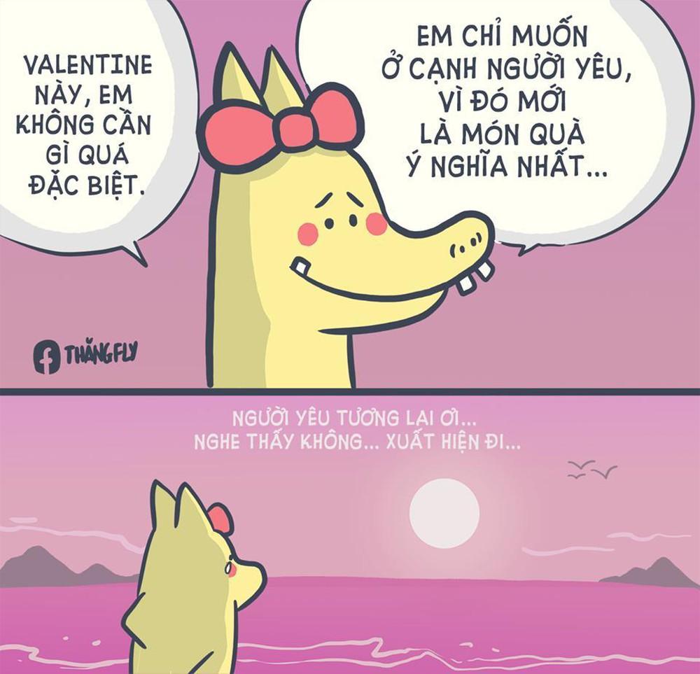 Ảnh Chế Valentine FA, Hình Ảnh Chế FA Valentine 14/2 Vui & Hài Hước