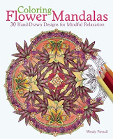 Coloring Flower Mandalas by Wendy Piersall