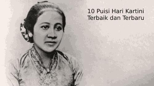 Donwload 10 Puisi Tentang Hari Kartini Terbaik Dan Terbaru 2019