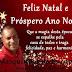 Presidente da Câmara de  São Miguel das Matas Marquinho da sucupira deseja a todos um Feliz Natal e Próspero Ano Novo!