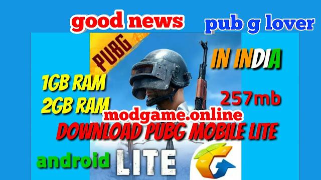 PUBG Mobile lite in india