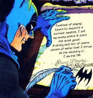 Batman Writing