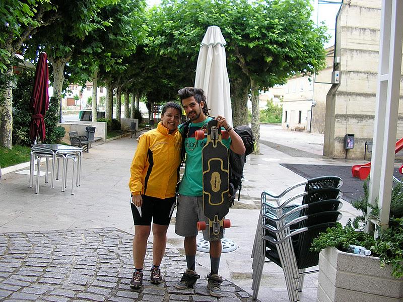 El Camino de Santiago en Monopatín