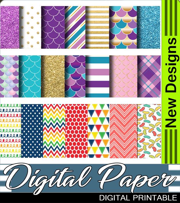 Printable Digital Papers