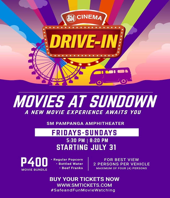 The SM Cinema Drive-In Experience