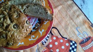 Хляб с маслини - рецепта