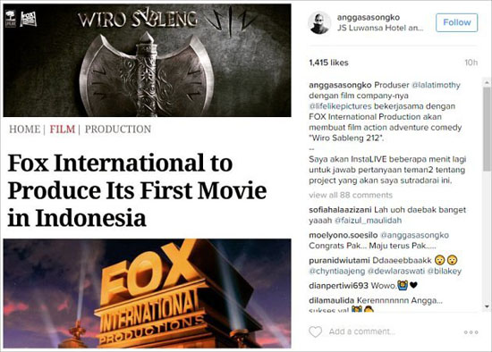 Film Wiro Sableng 212 Terbaru