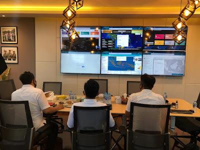 Monitoring Pengawasan Kartutla di Jambi, Personil Subdit IV Ditreskrimsus Polda Jambi Pasang Aplikasi ASAP DIGITAL di Ruangan As Ops Kapolri