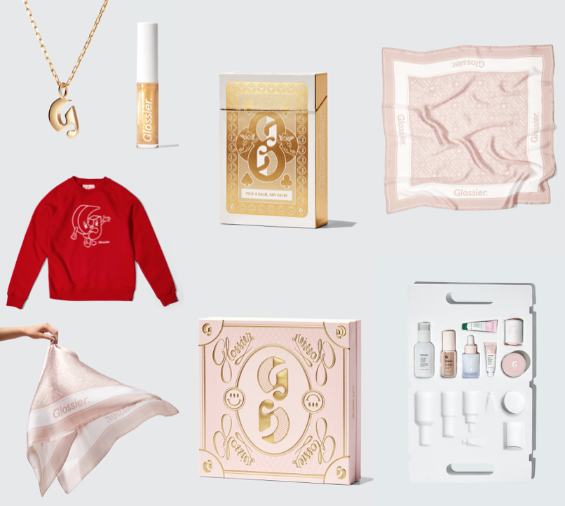 Glossier Christmas 2020 Collection & Gift Sets (+ Discount Code)