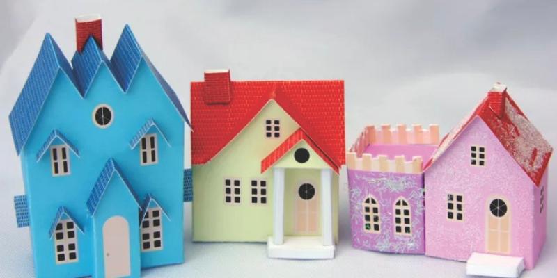 Edificios De Papel Para Imprimir Recortar E Montar Conteudo Gratis
