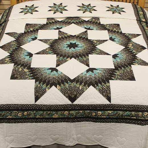 Broken Star Quilt by Family Farm Hand Crafts, The Pattern by Fons & Porter's: Love of Quilting