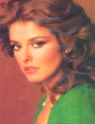 Foto de Lucía Méndez en sus inicios como actriz