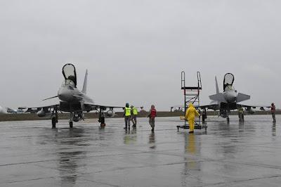 Spanish Eurofighter NATO Romania