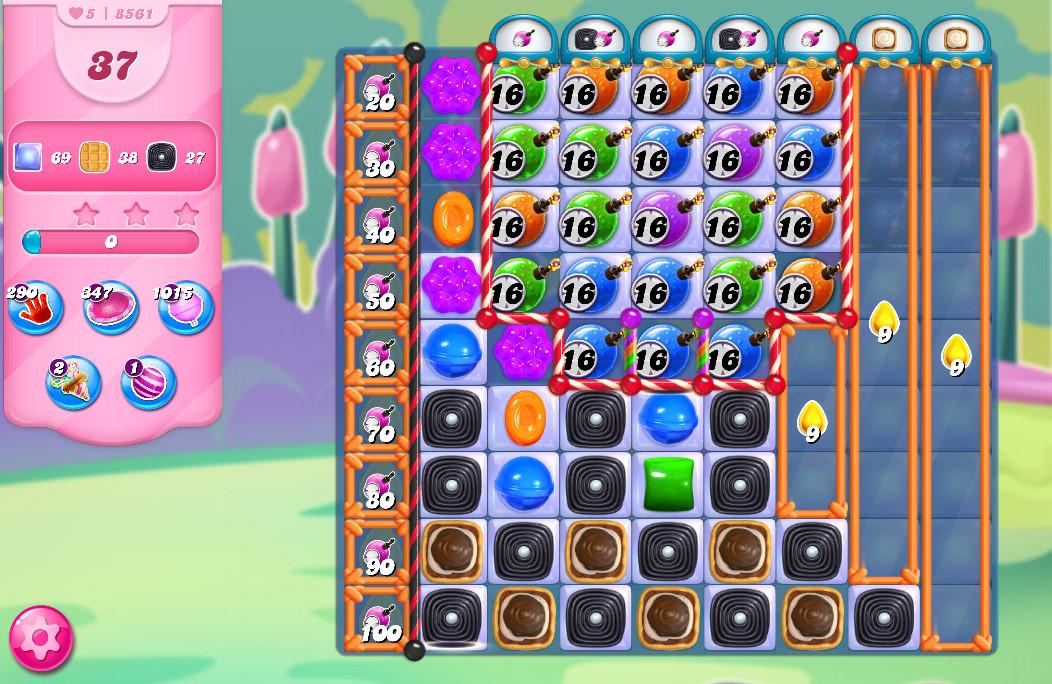 Candy Crush Saga level 8561