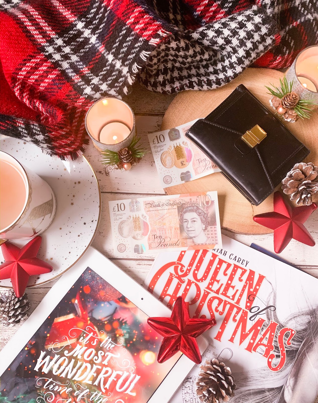 5 Ways To Save Money On Gifts This Christmas Two Flatlay