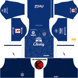 for your dream team in Dream League Soccer  Baru!!! Buriram United 2018 -  Dream League Soccer Kits