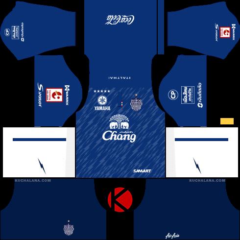 Buriram United 2018 -  Dream League Soccer Kits