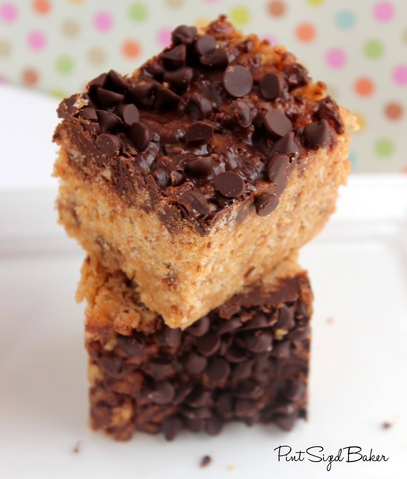 Peanut Butter Rice Cereal Treats