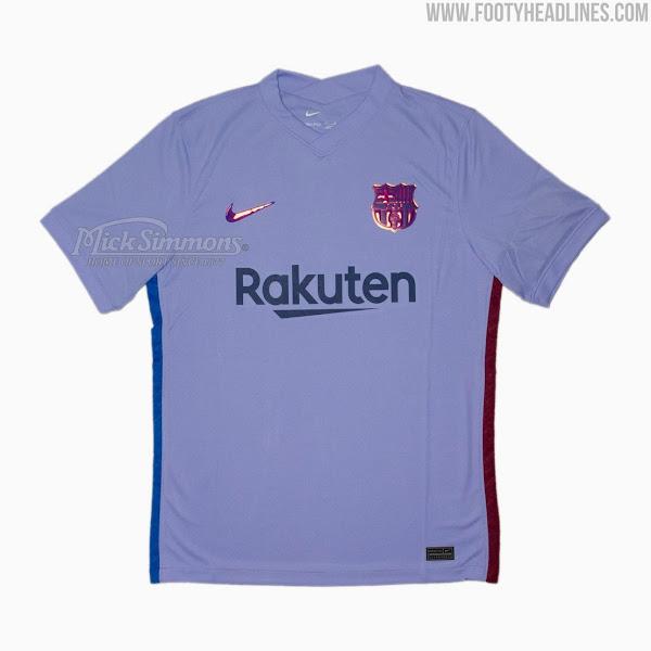 Novo uniforme 2 do Barcelona (FootyHeadlines)